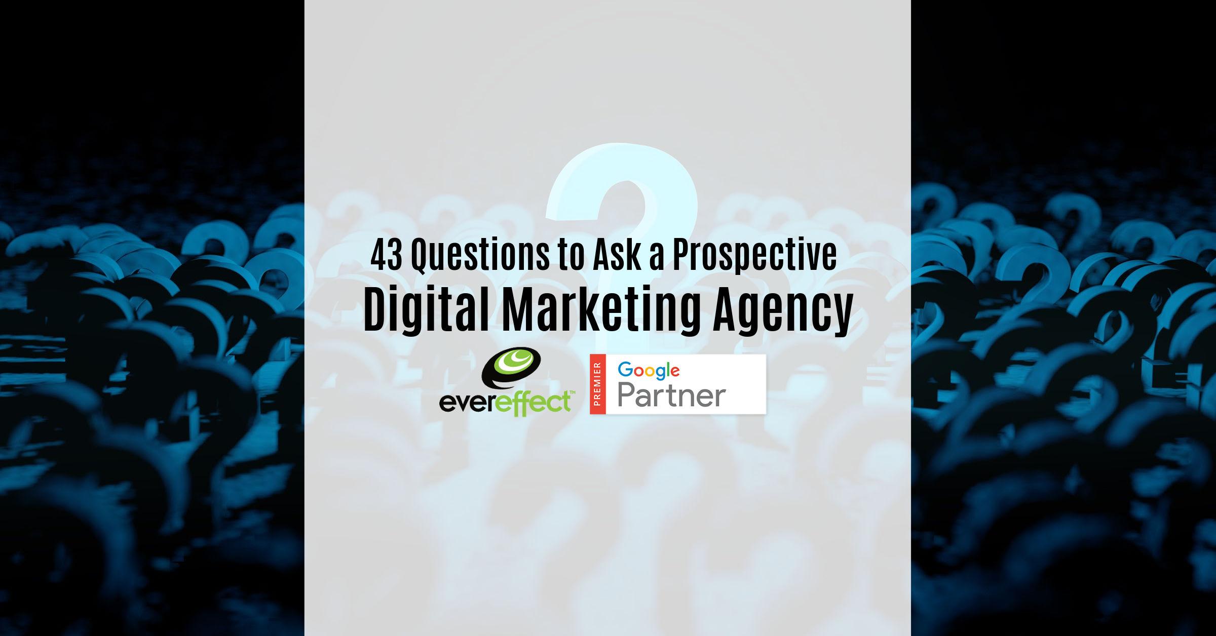 digital agency questions