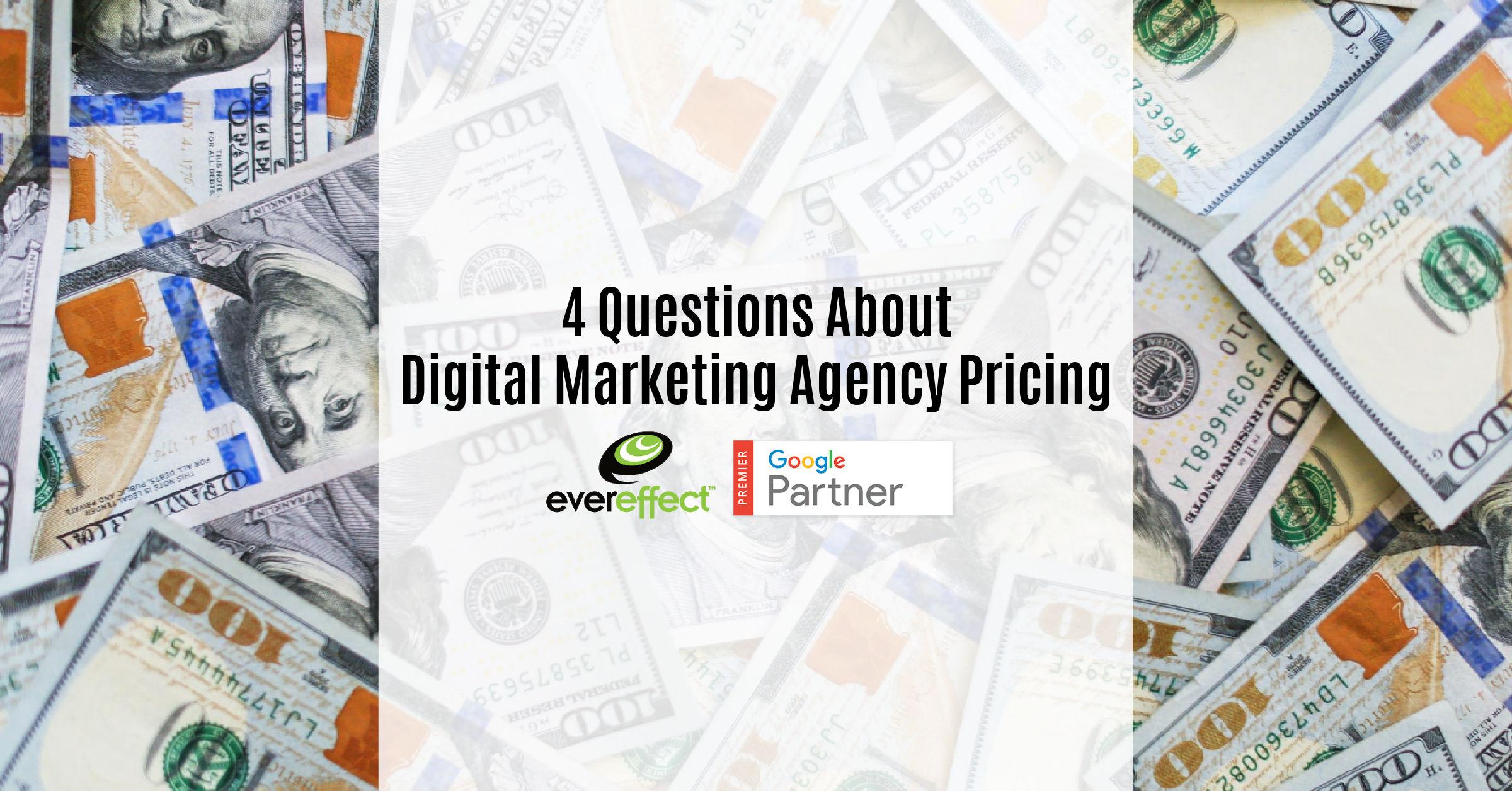 digital marketing agency pricing