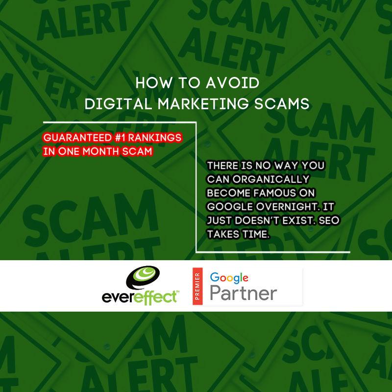 guaranteed #1 rankings scam