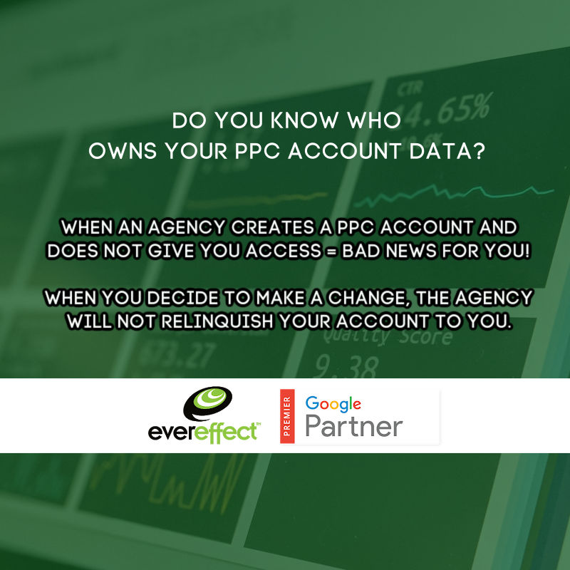 not giving you your ppc data